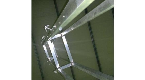 Estrutura de 5m para Jardim vertical exterior, França