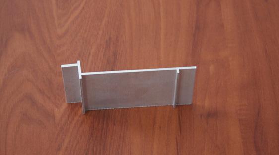 Perfil de aluminio para metro