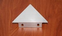 Triângulo em aluminio para sinalização de segurança